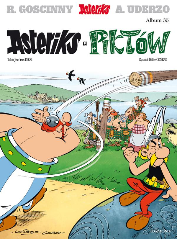 Asteriks u Piktow - okładka