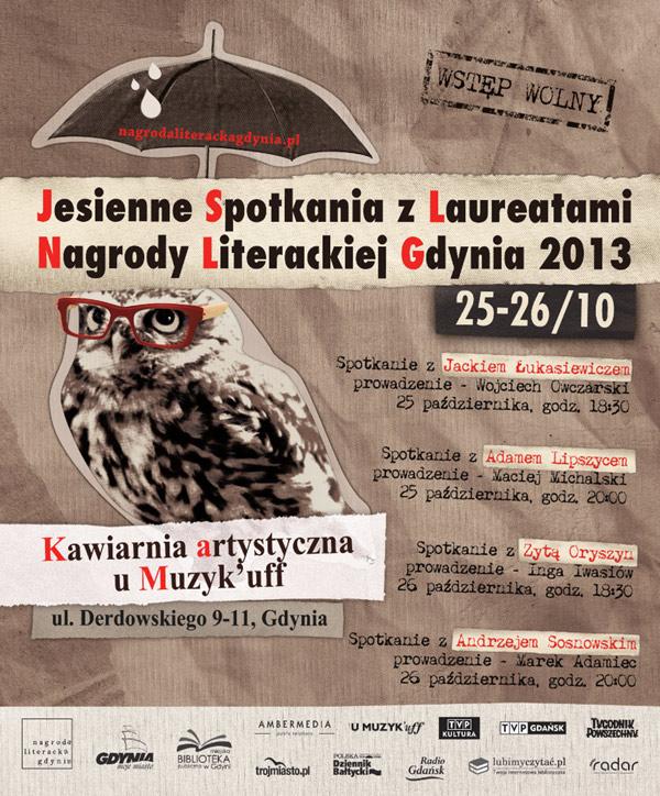 Plakat Jesiennych Spotkań NLG 2013