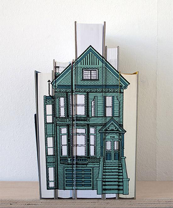 budynki na książkach - 07