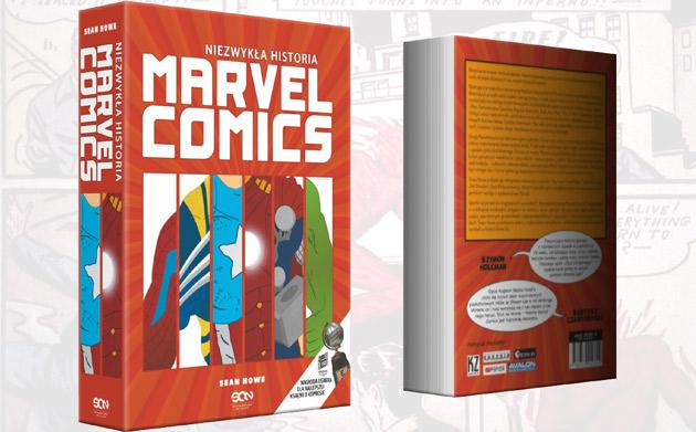 fragment Niezwykłej historii Marvel Comics
