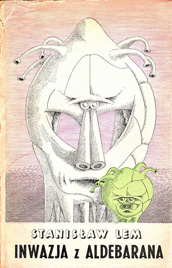 """Stanisław Lem """"Inwazja z Aldebarana"""", Wydawnictwo Literackie, 1959"""