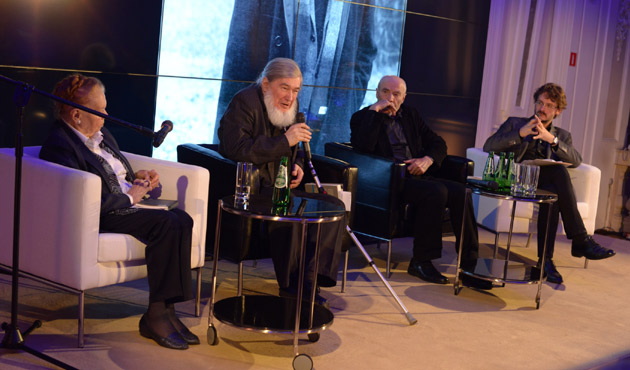 rocznica Herberta: Hartwig, Karasek, Krynicki, Franaszek