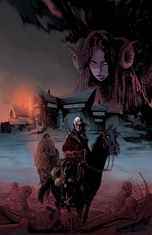 Wiedźmin - komiks (okładka 2)