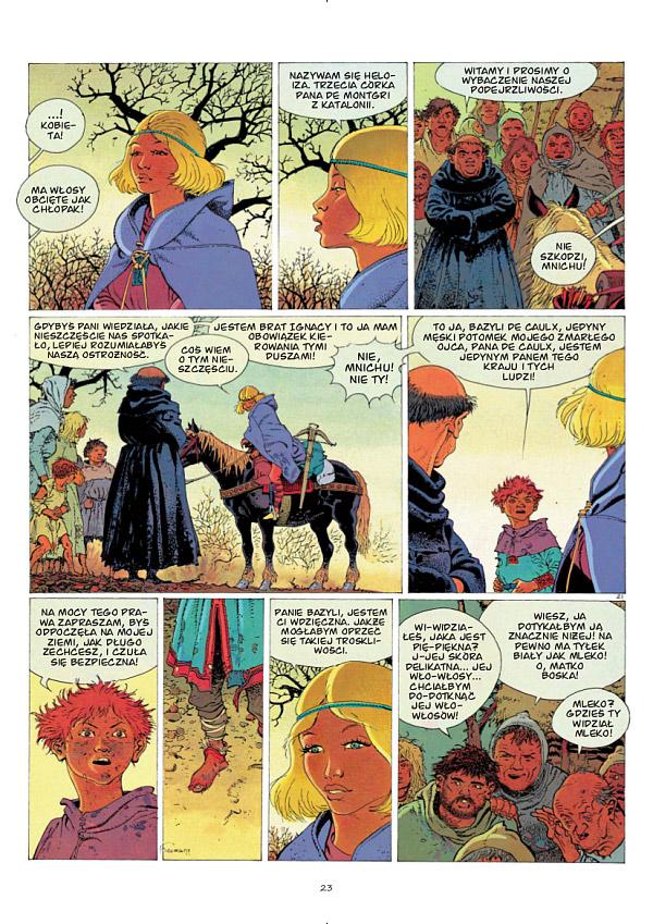Wieże Bois-Maury tom 2: Heloiza de Montgri - 3