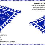 2. targi książki artystycznej Rookie Book Fair w Poznaniu
