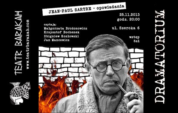 Dramatorium Sartre