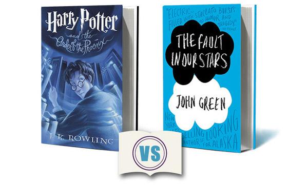 Gwiazd naszych wina i Harry Potter