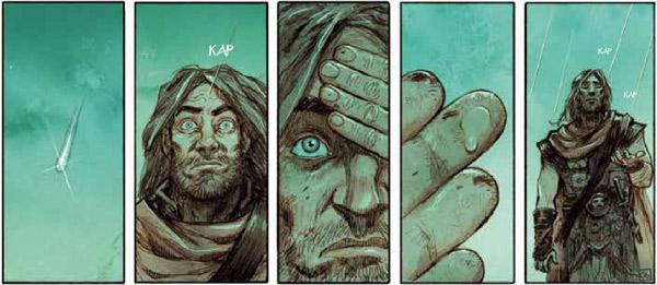 Noe tom 1: Za niegodziwość ludzi - rysunek 2