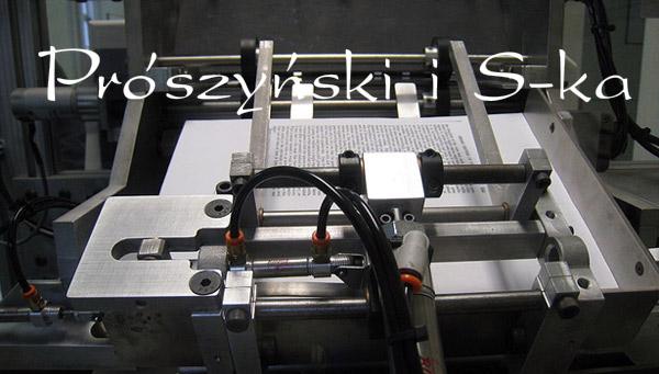 Prószynski - druk na żądanie