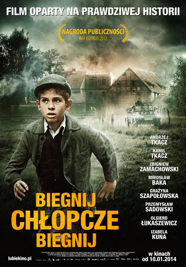 BiegnijChlopczeBiegnij_plakat