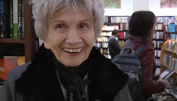 Alice Munro i sprzedaż książek