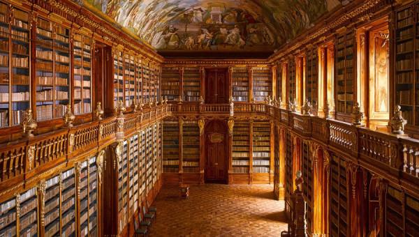 Biblioteka na Strahowie (Praga, Czechy)