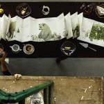 We Wrocławiu możecie obejrzeć ilustracje z 6-metrowej książki Marka Bieńczyka