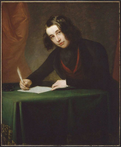 Portret Charlesa Dickensa wykonany w 1842 roku przez Francisa Alexandra.