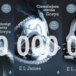 """100 milionów sprzedanych egzemplarzy trylogii """"Pięćdziesiąt twarzy Greya"""""""