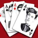 Zagraj w karty z pisarzami