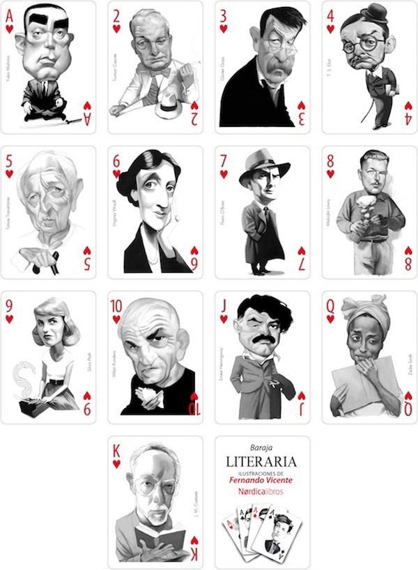karty pisarze - 3