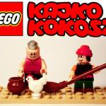 Kajko i Kokosz jako figurki Lego!