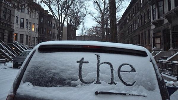 opowiadanie na śniegu