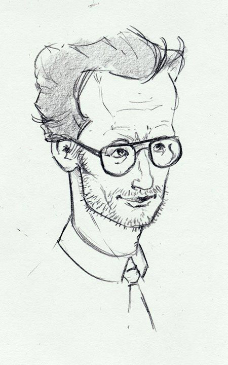 Profesor Andrews - szkic