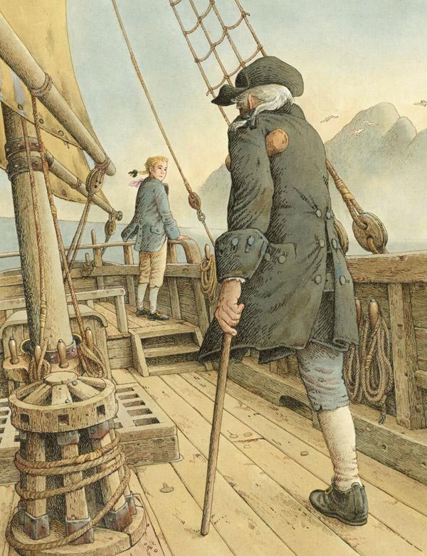 Wyspa Skarbów - nowe tłumacenie - ilustracja