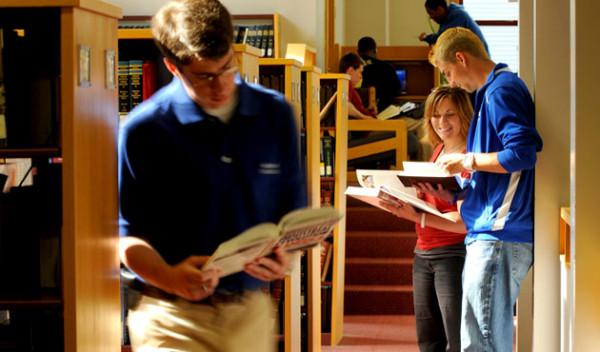 biblioteka i woźny