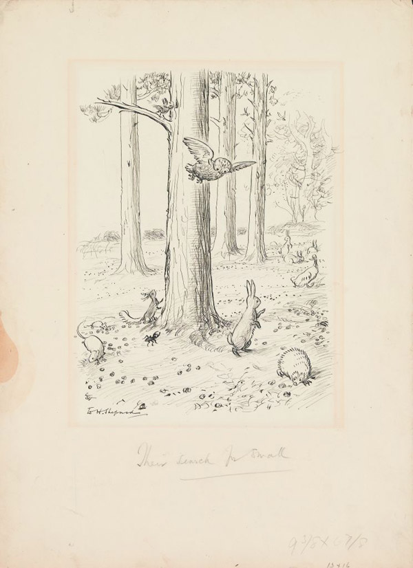 """Shepard - ilustracja """"Chatka Puchatka"""""""