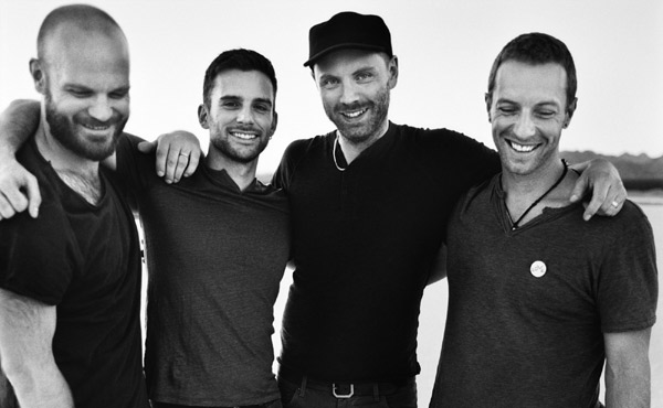 Coldplay-biblioteki