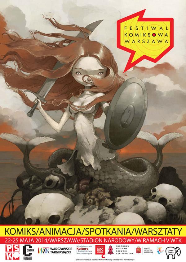 komiksowa-warszawa-2014-plakat
