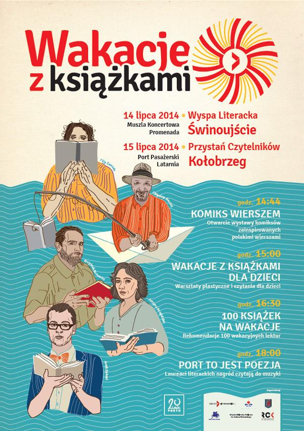 wakacje-z-ksiazkami-2014-plakat