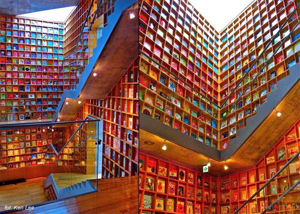 Muzeum (i biblioteka) Książek Obrazkowych dla Dzieci w Iwaki (Japonia).