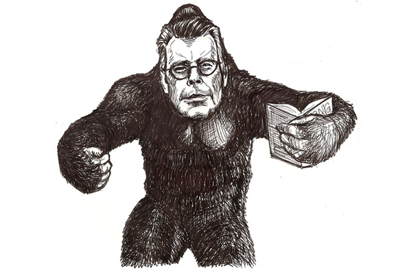 Stephen King jako Stephen King Kong.