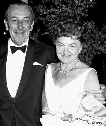 """Pamela i Walt Disney na premierze filmu """"Mary Poppins"""""""