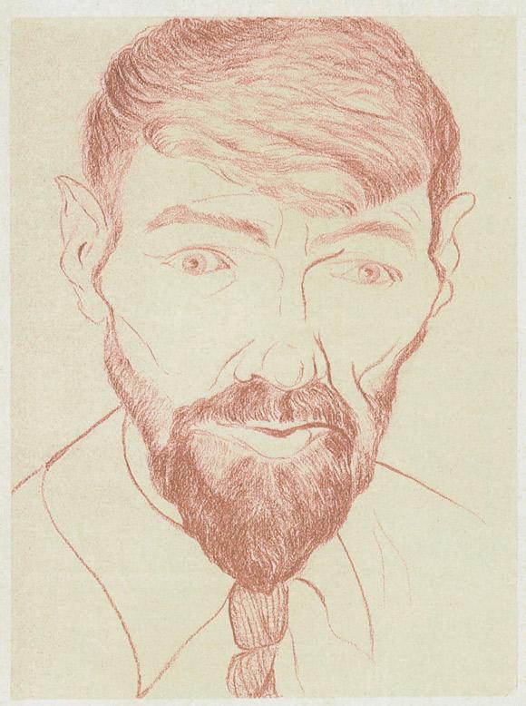 DH-Lawrence-autoportret