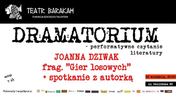 Dramatorium-Dziwak