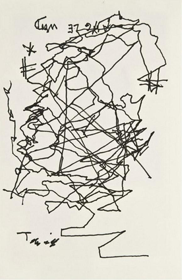 Jorge-Luis-Borges-autoportret