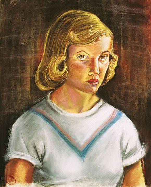 Sylvia-Plath-autoportret