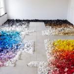 """Stworzył instalację inspirowaną koncepcją """"chłamu"""" Philipa K. Dicka"""