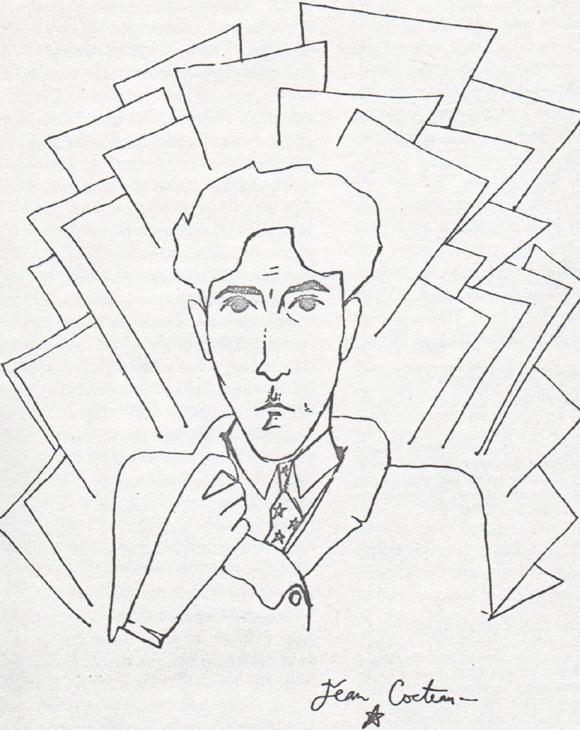 jean-cocteau-autoportret