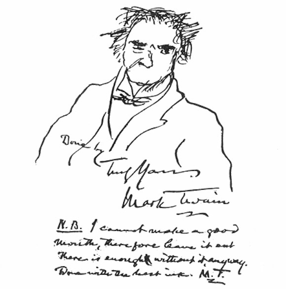 mark-twain-autoportret
