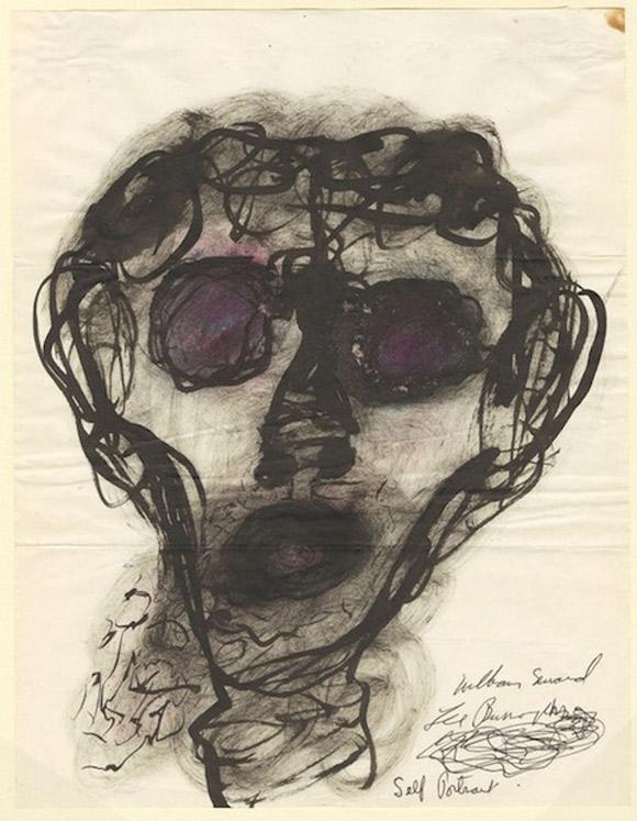 william-s-burroughs-autoportret