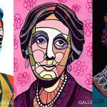 Pisarze na witraże ? portrety słynnych autorów pędzla Heather Galler