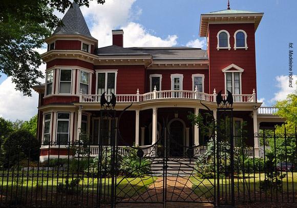Nawiedzony dom Stephena Kinga w Bangor, w stanie Maine.