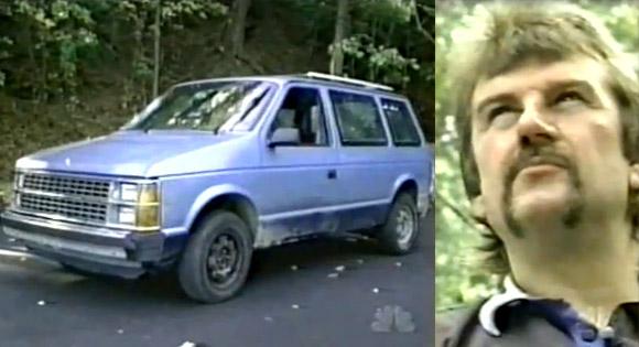 42-letni Bryan Smith i jego van.