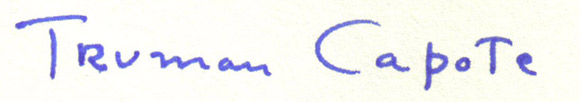 Capote-podpis