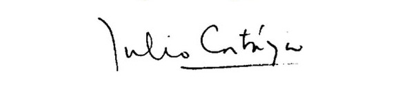 Cortazar-podpis