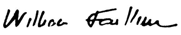 Faulkner-podpis