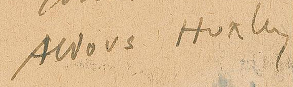Huxley-podpis
