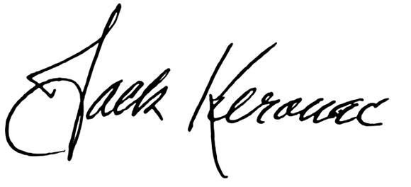 Kerouac-podpis
