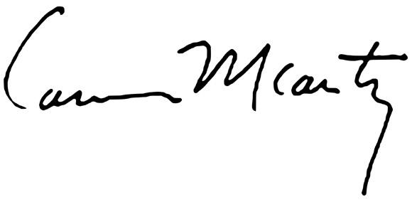 McCarthy-podpis